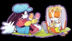 Cute kids by Akusuru