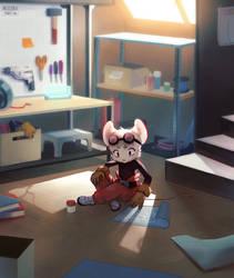 Mea's workshop by Akusuru