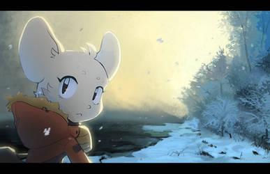 Snowy by Akusuru