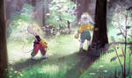 Forest pals by Akusuru