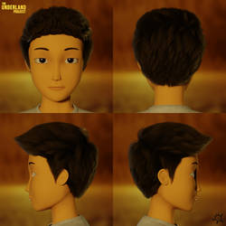 GREGOR'S CG HAIR!!! by DoodleNotesPictures
