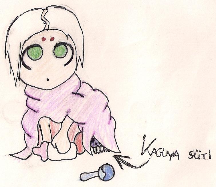 Baby Kimimaro by Kaguya-Harinezumi