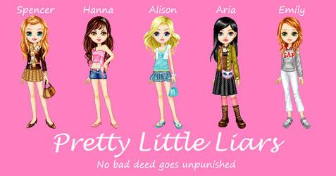 Pretty Little Liars Dolls by peachfan7