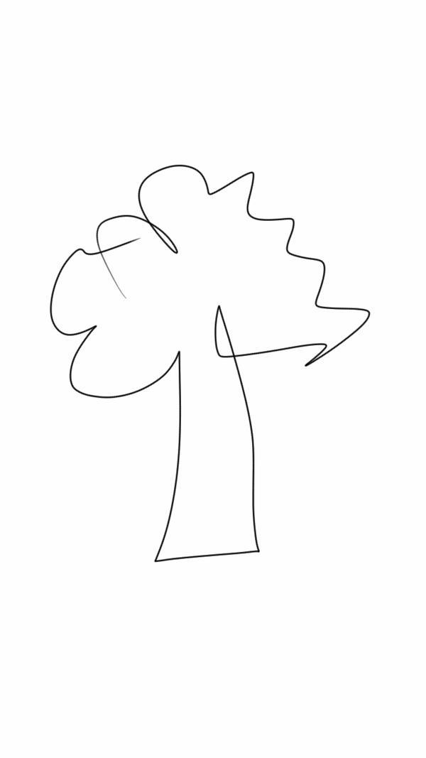 SKETCH A TREE by merhej
