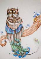 Owl of Paradise by Vampyeress