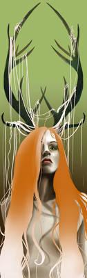 Daughter of Cernunnos by Vampyeress