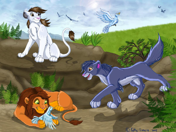 http://fc65.deviantart.com/fs20/i/2007/308/b/f/Hunting_with_birds_by_Ketty_lioness.jpg