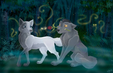 In The Fantasy Wood by Ketty-lioness