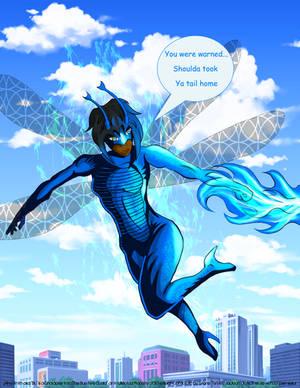 Blu in Flight color WIP 8oct13