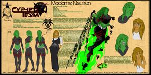 Madame Neutron Character Sheet