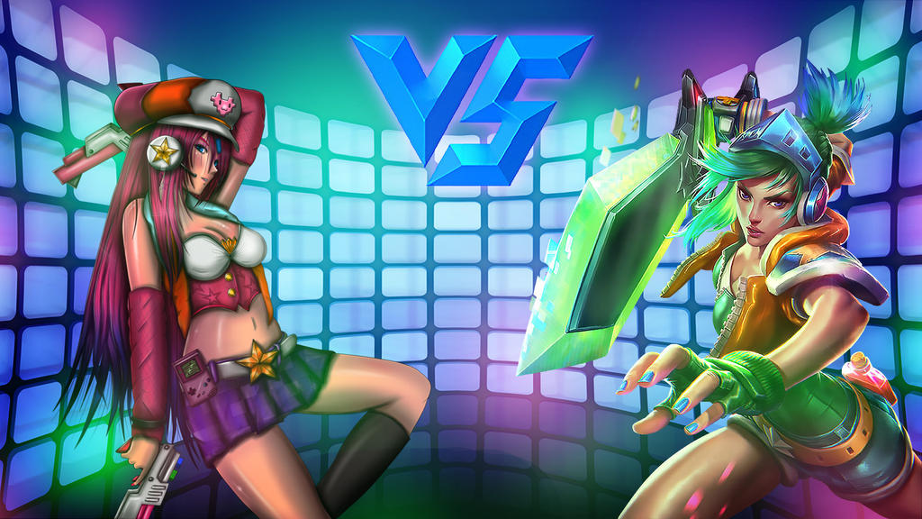 Arcade-Riven-VS-Arcade-Miss-Fortune-Background by TwinJoker on ...Bunny Riven Fan Art