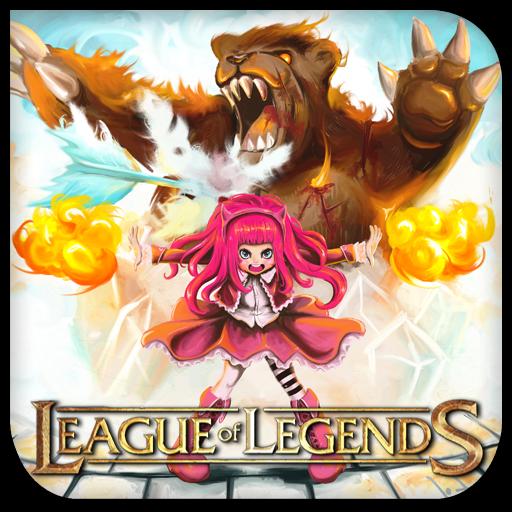 League of Legends Annie by griddark