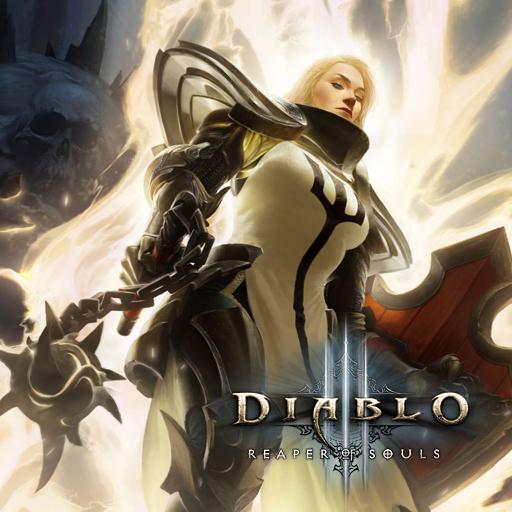 Diablo III Crusader Fem by griddark