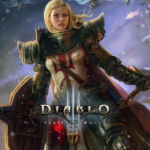 Diablo III Crusader Fem2 by griddark