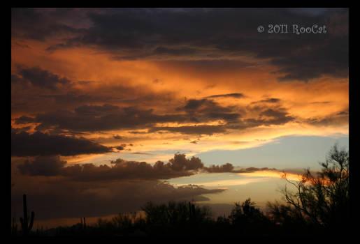 BobCat Summer Monsoon Sunset
