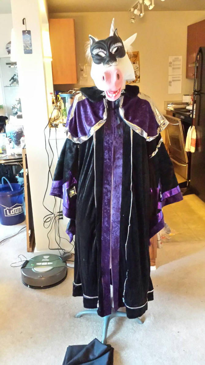 Wizard Robe costume necro. by Tibby101
