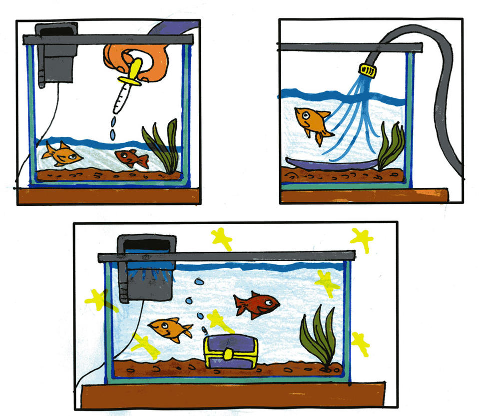 How to Clean your Fishtank part 2 by Tibby101