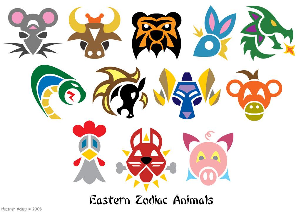 Zodiac Animal Symbols By Tibby101 On Deviantart