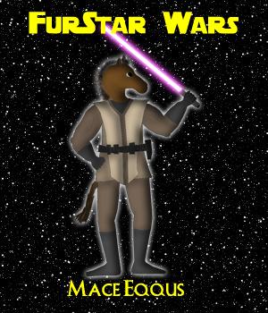 FurStar Wars - Mace Eqqus by Shaddar-Bear