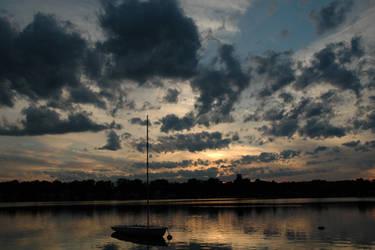 sailboat by Simlinger