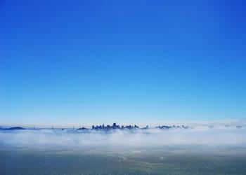 Fog - San Francisco by Simlinger