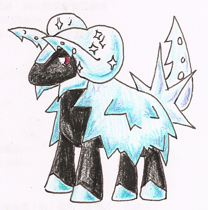 PSE- Fake Pokemon- Glacieram by tk36477