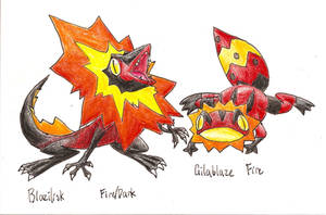 1st challenge- frilled lizards by tk36477