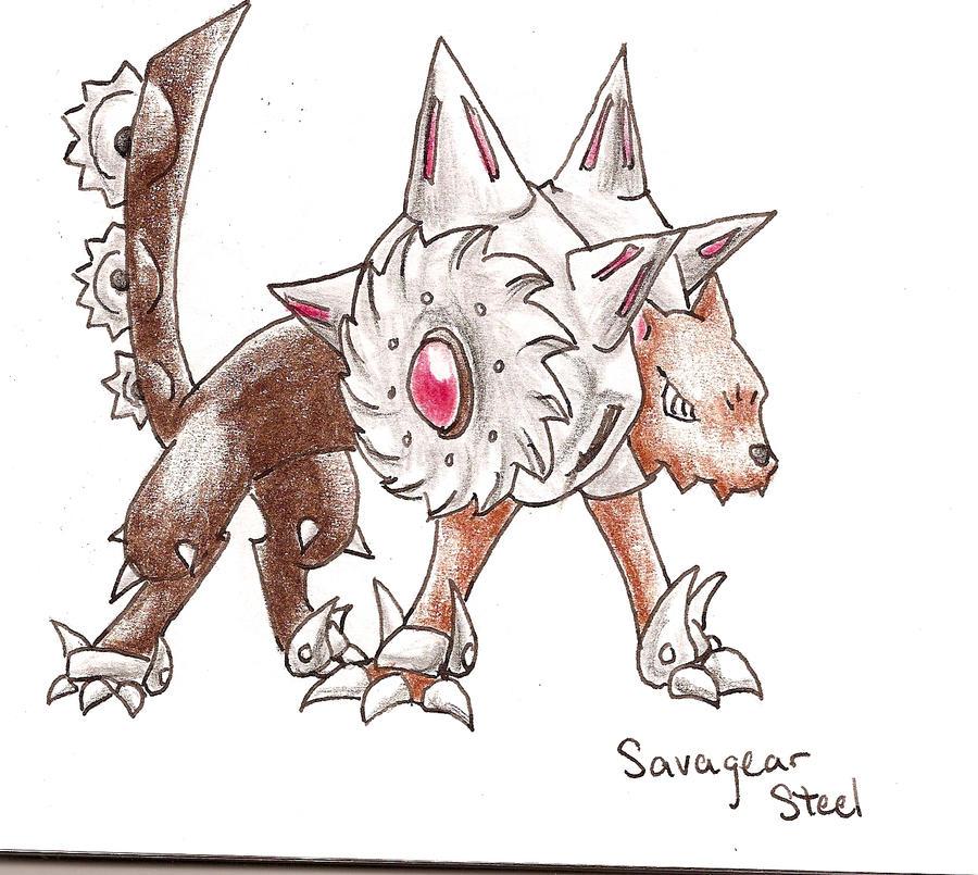 Fake Pokemon- Savagear by tk36477