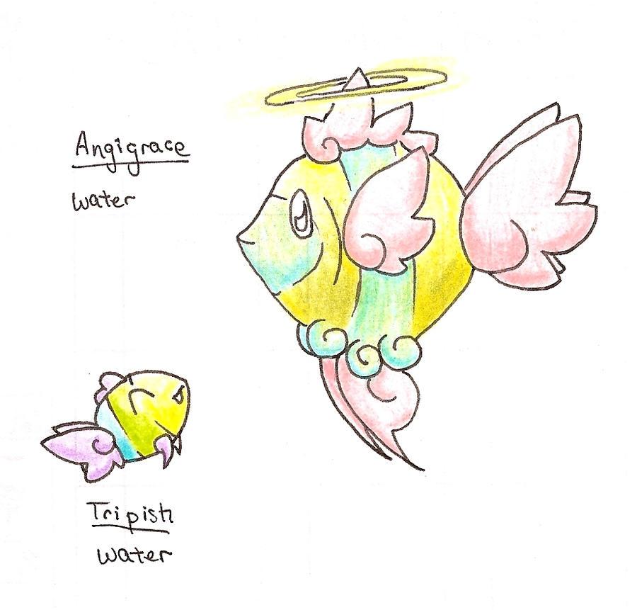 Angelfish Fakemon Tropical_saviors_by_tk36477-d36dkzi
