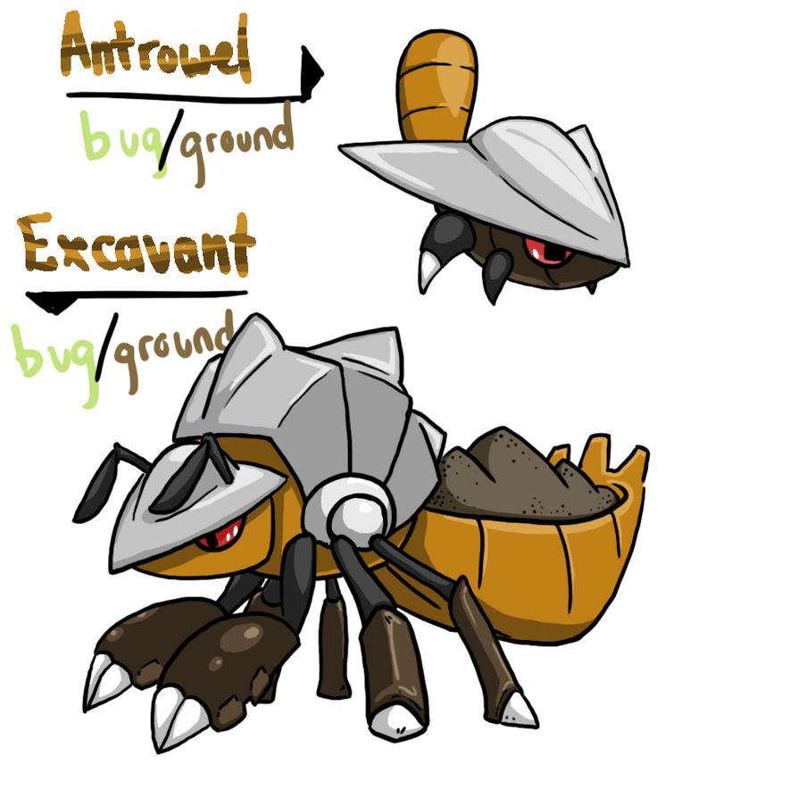 Draw it Again: Shovel Ant by tk36477