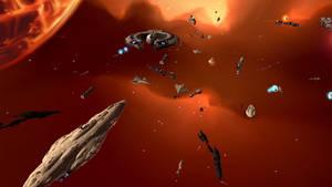 The Droid Blockade of Cato Neimoidia