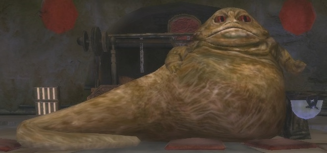 Rotta the Hutt by StarToursTraveler