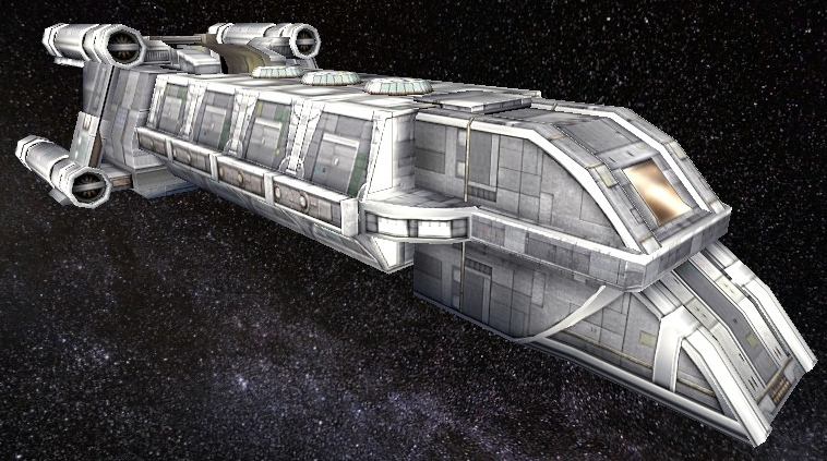 Outcast Class Shuttle by StarToursTraveler