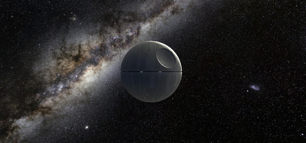 The Death Star by StarToursTraveler