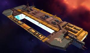 Tiir-La Class Mobile Shipyard