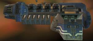 Explorer Class Deep Space Mining Warship