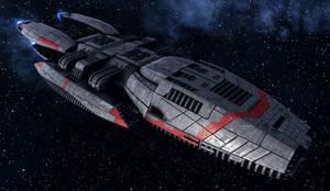 Mark I Jupiter Class Battlestar