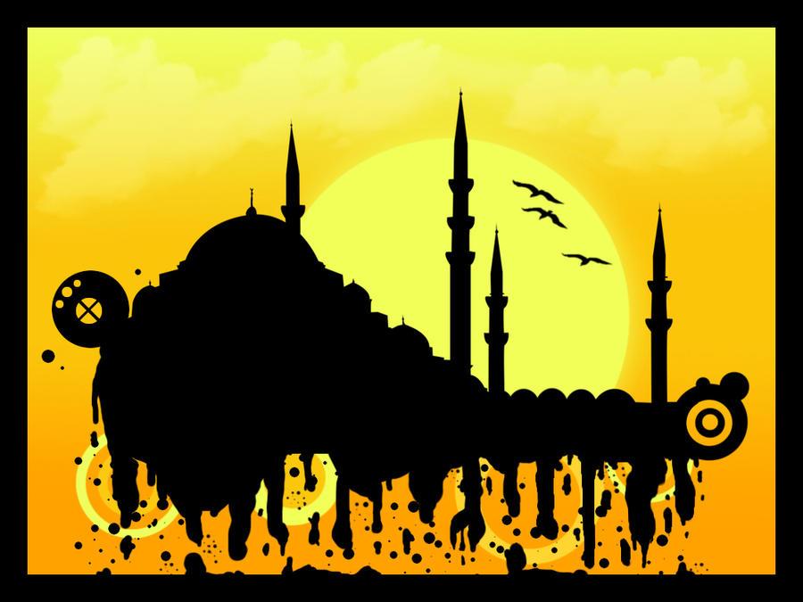 Mosque by caglarsasmaz