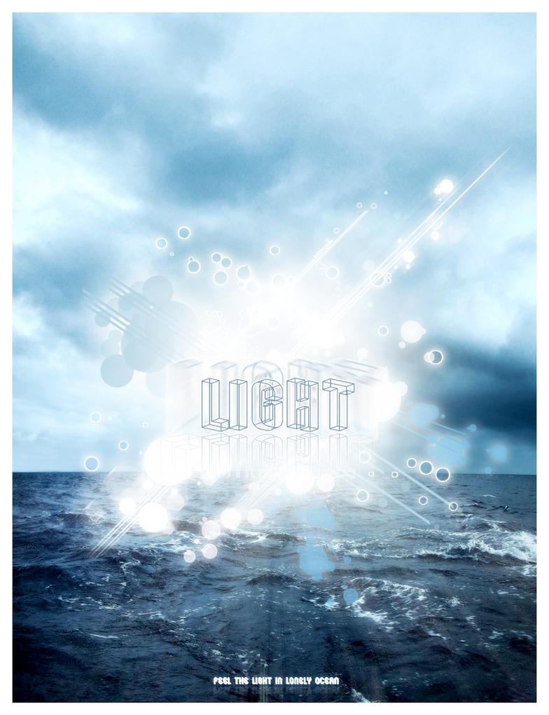 Light of  Lonely Sea by caglarsasmaz