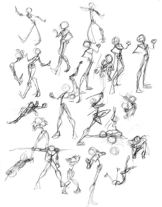 040407 Stick Figure Challenge By Laurean On Deviantart