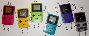My Gameboy colors by Red-Revolver