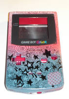Pimped out GBC pinkblue star by Red-Revolver