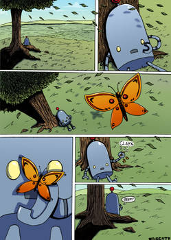 TL bot and Butterfly comic