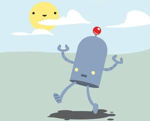happy TL Bot vector