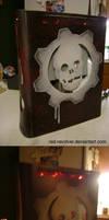 Gears of War custom xbox 360
