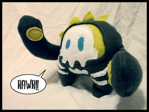 Rawr - monster plushie