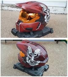 Custom Halo 3 Helmet