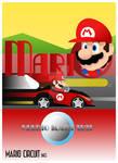Mario - Mario Circuit SNES (Art Deco Style)