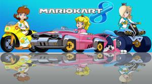 Mario Kart 8 Princesses