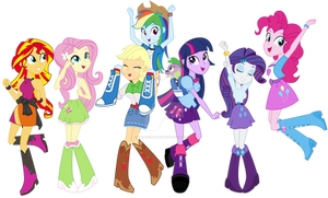 We are Equestria Girls